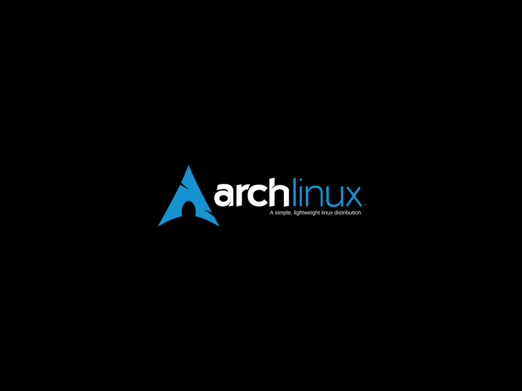 Arch logo black preview